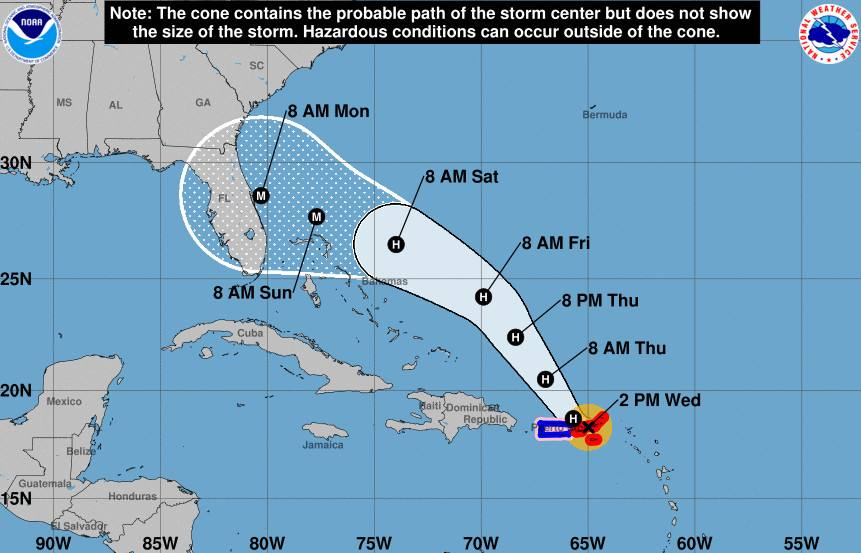 Safety measures before a hurricane: Tropical Storm Dorian