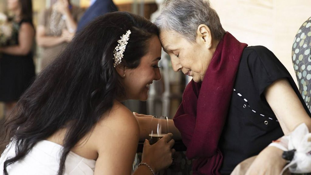 In the Loop interviewee Roma Liani and her mom, Martha, on Roma's wedding day