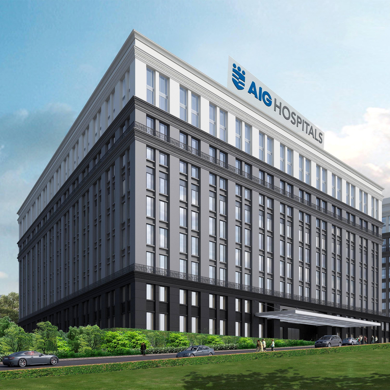 AIG Hospitals building