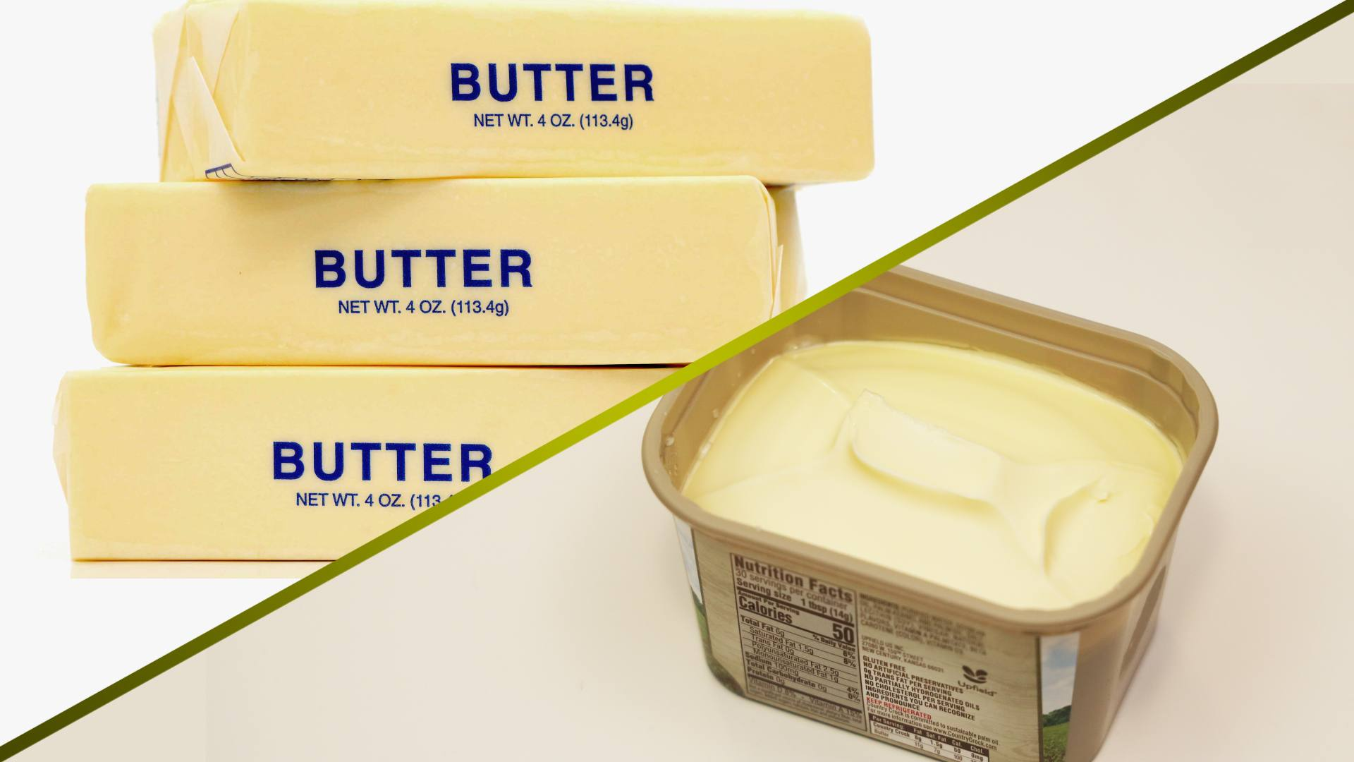 Mayo Clinic Minute: Butter versus margarine — what's the healthier spread?