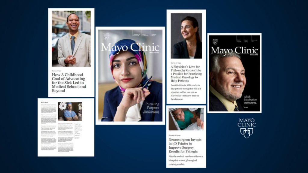 Mayo Clinic Magazine now available on new website