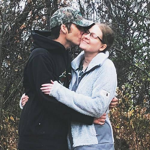 Sharing Mayo Clinic patient Tabetha Cameron and her husband Matt