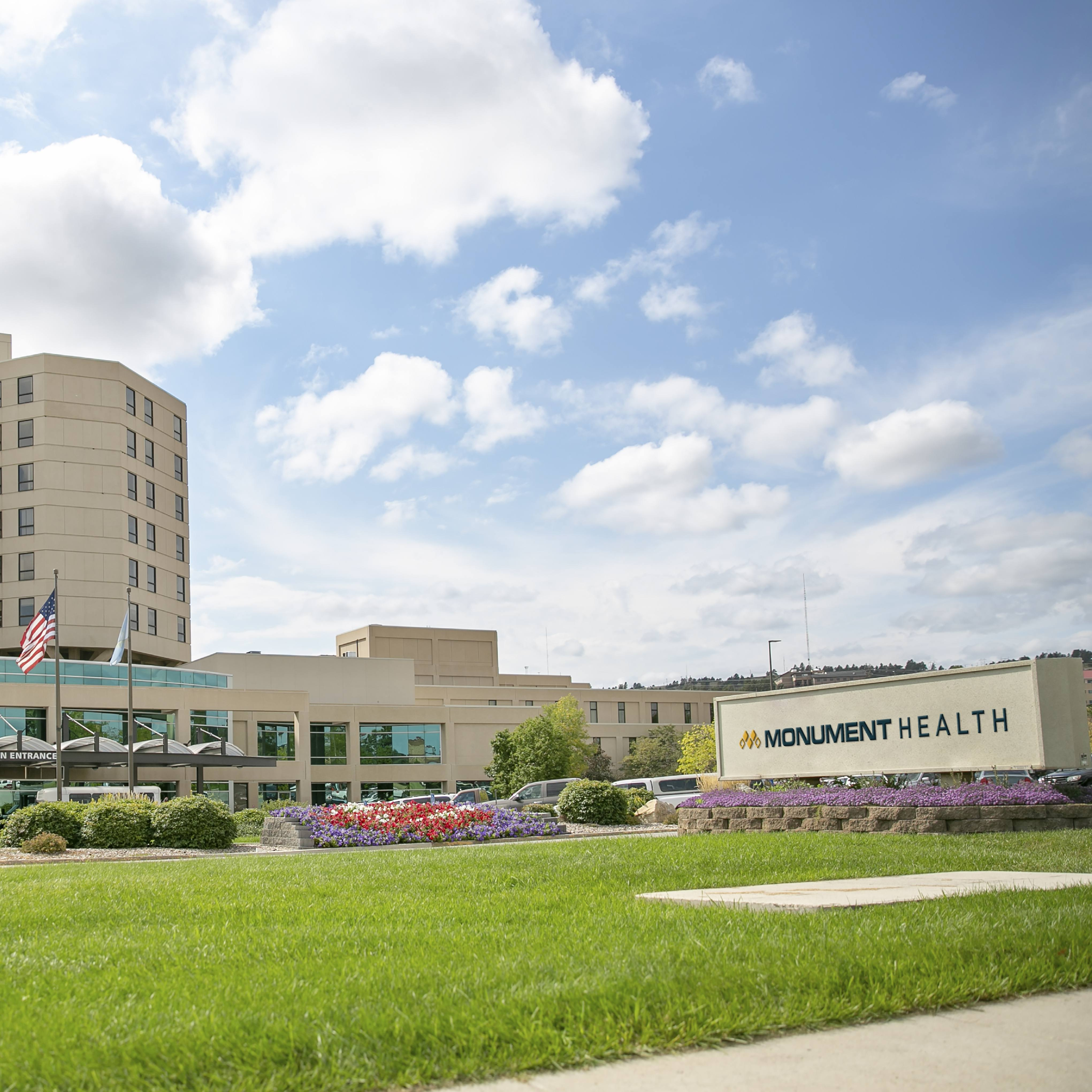 exterior image of Monument Health Buildings