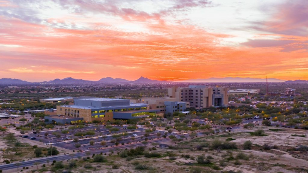 Plans for an integrated education and research building in Phoenix