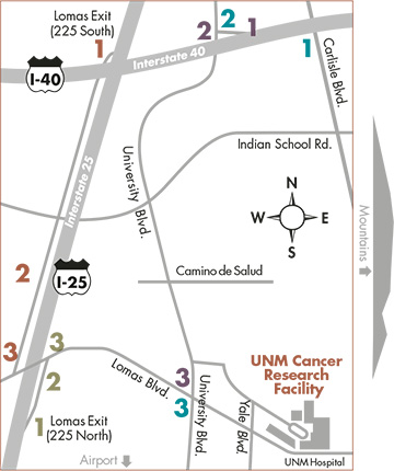 CRF Location | UNM Comprehensive Cancer Center Intranet
