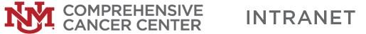 UNM Comprehensive Cancer Center INTRANET