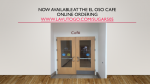Online Ordering Now Available at the El Oso Cafe!
