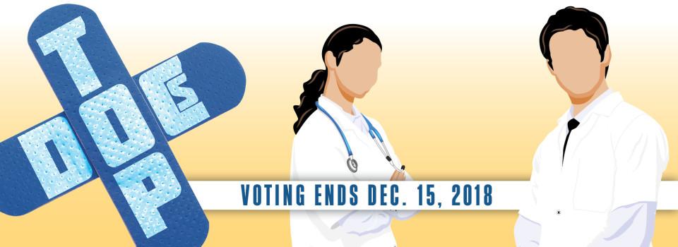 Physicians: Top Doc Votes Due Dec. 15