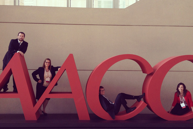Our bloggers and colleagues are having a lot of fun at #AACC2014. Maybe too much fun!