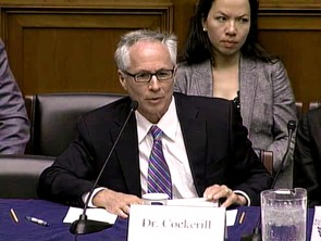 Dr. Frank Cockerill delivers remarks at 21st Century Roundtable on personalized medicine.