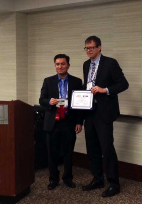 John Mills, Ph.D., also received the Clinical Translational Science Division Best Abstract award.