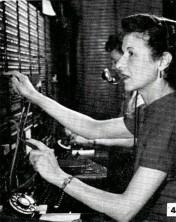 Marjorie Hoffman — Telephone Operator