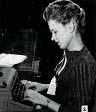 Violet Gerdes — Secretary, S-6