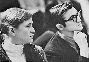 Penelope Johnson and Herbert Gladen are members of the first-year class of 40 students who entered the new Mayo Medical School in September, 1972.