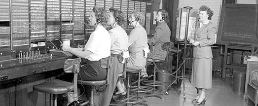 TelephoneOffice1950