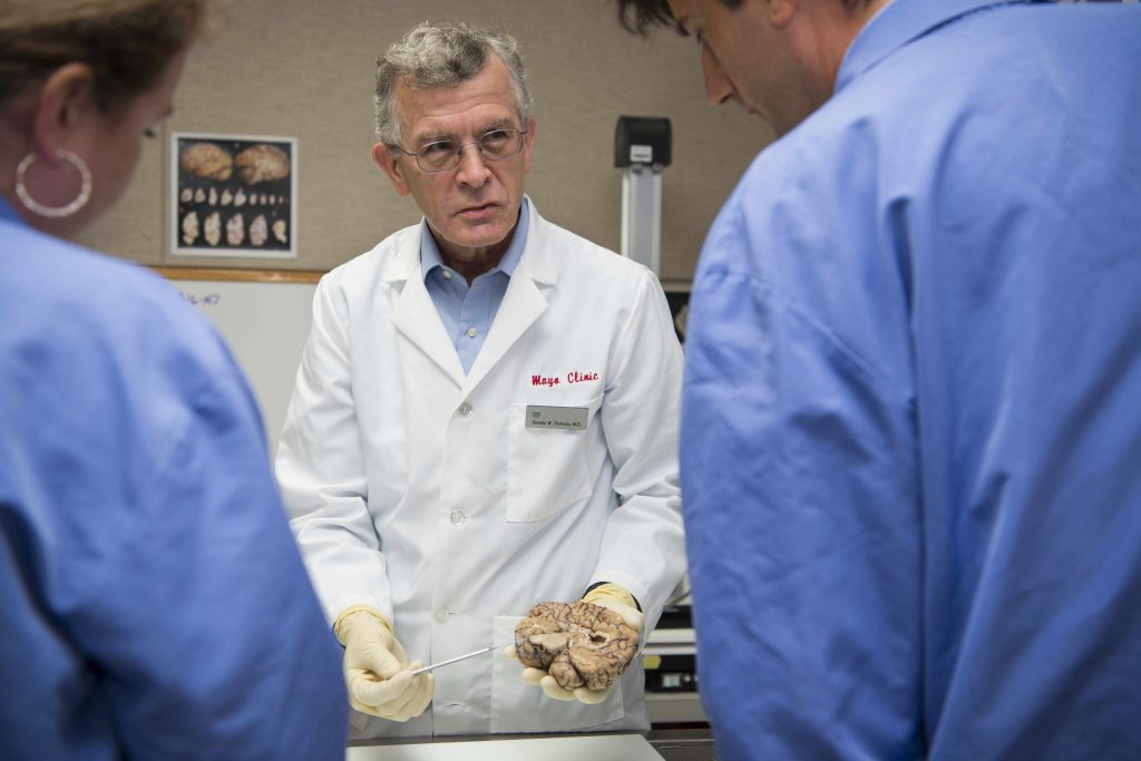 Dr.-Dennis-Dickson-brain-dissection-1024x683