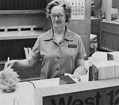 Betty Shaw, assigned to the Department of Oncology, had been working for a restaurant when she heard Mayo was starting to hire women for its custodial staff in 1978.