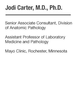 Jodi Carter, M.D., Ph.D. - bio