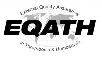 Logo for External Quality Assurance in Thrombosis and Hemostasis (EQATH)