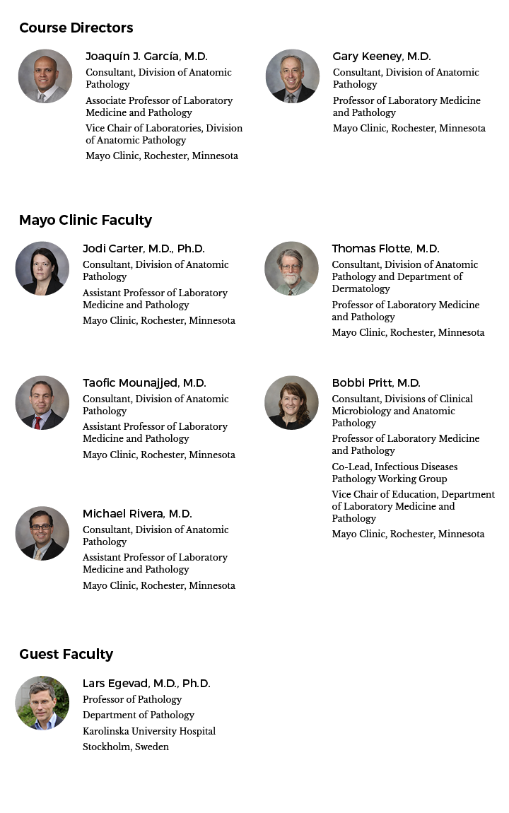 Faculty image for 22nd International Surgical Pathology Symposium