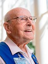 96-Year-Old Volunteer Brightens Days of All He Serves in Minnesota