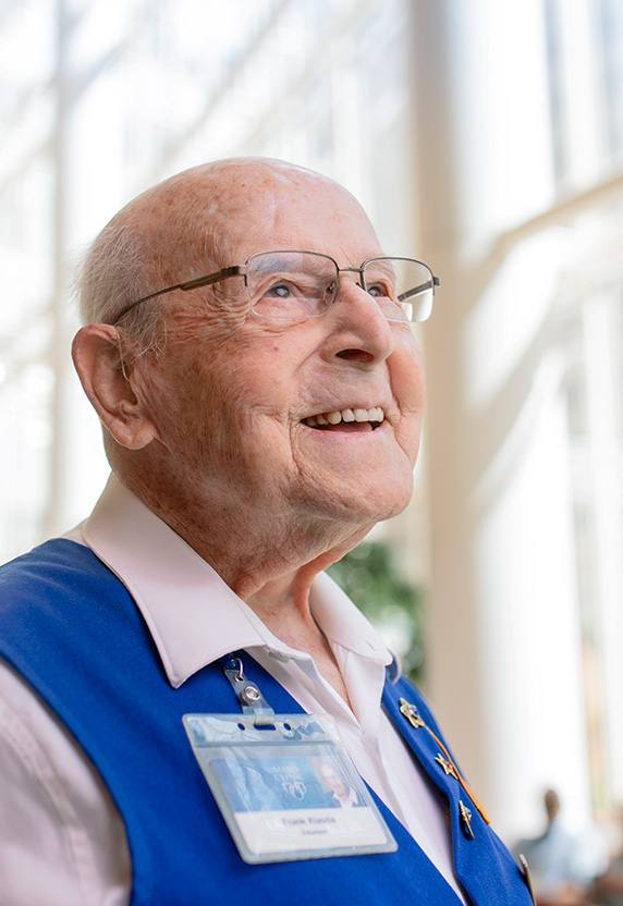 96-Year-Old Volunteer Brightens Days of All He Serves in Minnesota