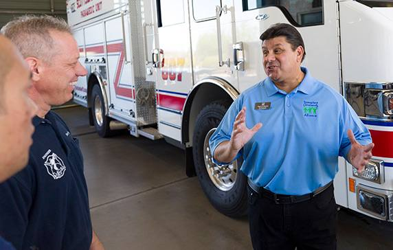 Retired Firefighter Finds Joy by Sharing About the Impact of Organ Donation