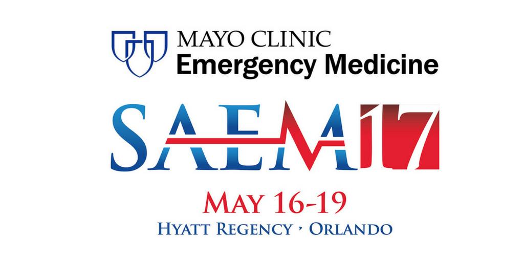 Mayo Clinic EM at SAEM 17