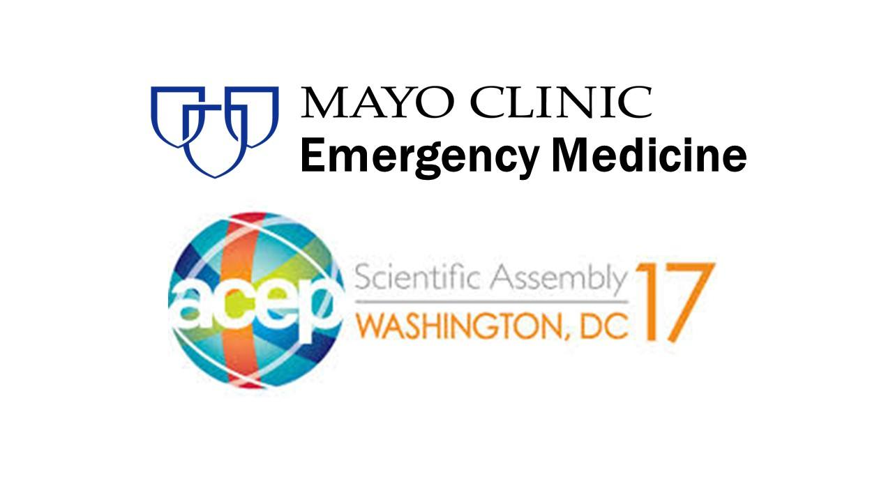 Mayo Clinic EM in ACEP 2017