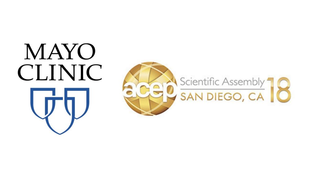 Mayo Clinic at ACEP Scientific Assembly 2018