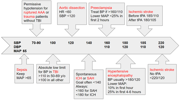 Under Pressure!: Acute Blood Pressure Management in Emergency Medicine