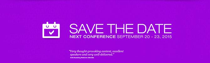 Individualizing Medicine Conference 2015