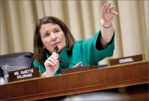 Colorado Democrat Diana DeGette is one of the main sponsors of the 21st Century Cures bill