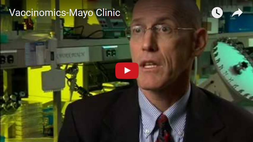 Dr. Greg Poland discusses the new field of research called vaccinomics.