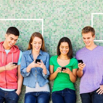 Is your teen's smartphone literally a pain in the neck?