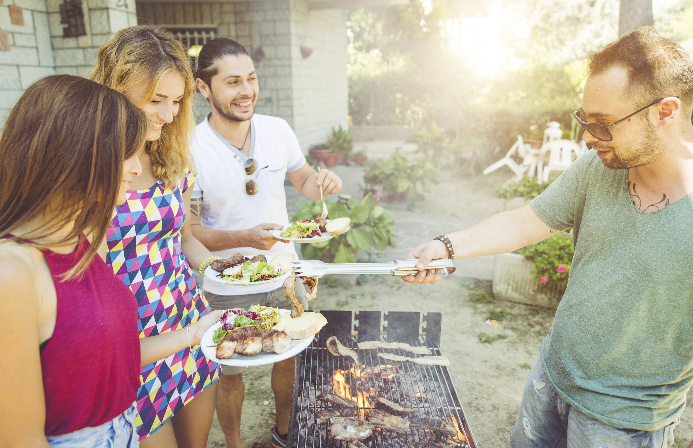 Grill smart: Stay safe at summer barbecues