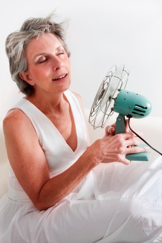 Hot news flash! Menopause speeds up aging.