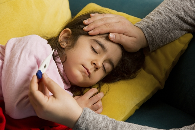 UCLA Health Tips - What to do when your child has a fever