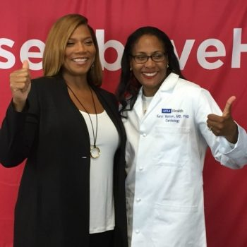 Queen Latifah and UCLA cardiologist discuss why heart failure is a family affair
