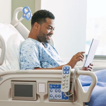Bedside app keeps patients informed