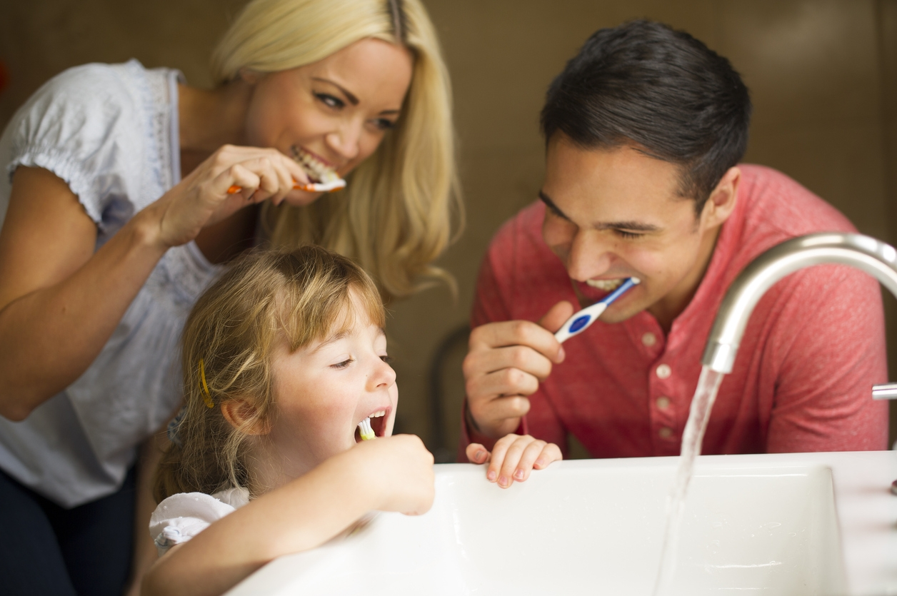 Dental care for children and adolescents