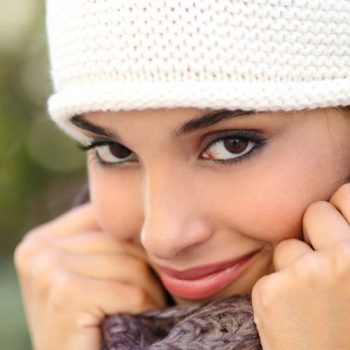 "While winter skies may look dreary, protecting your skin is still ""in"""