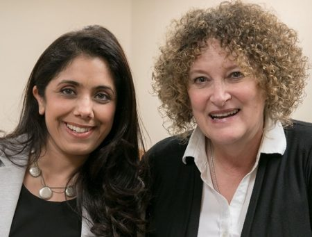 Shilpa Baweja, PhD, and Cynthia Whitham of the UCLA Parenting and Children's Friendship Program.
