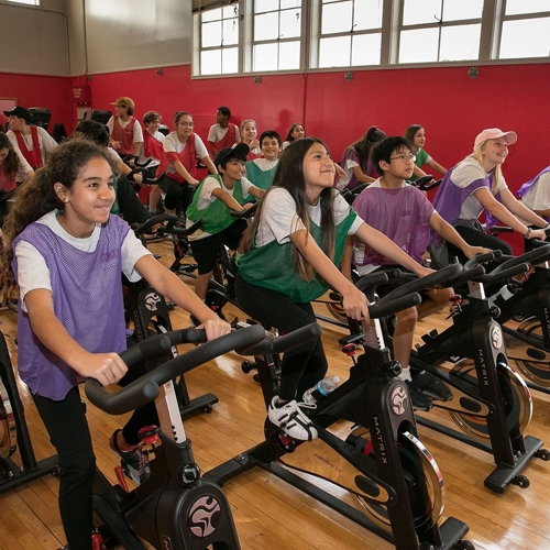 Local schools get gym make-overs to inspire health and fitness