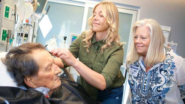 UCLA Health Volunteer Hair Stylists Help Patients Look and Feel Their Best