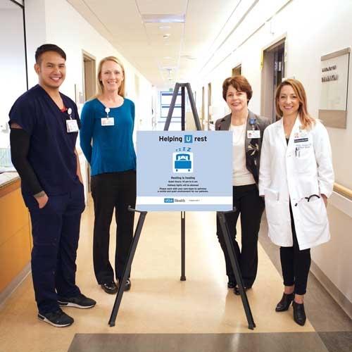 New Hospital Initiative Seeks to Enhance Patient Sleep