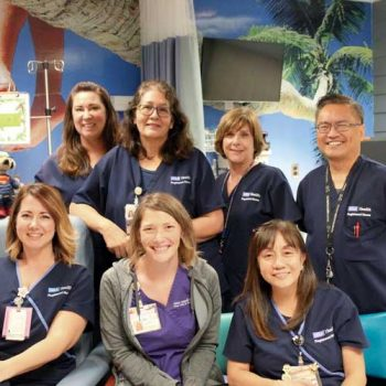 Pediatric Infusion Center: A space to heal and learn
