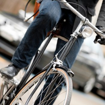 Pedaling to work is good for your health, but be aware of traffic-related pollutants