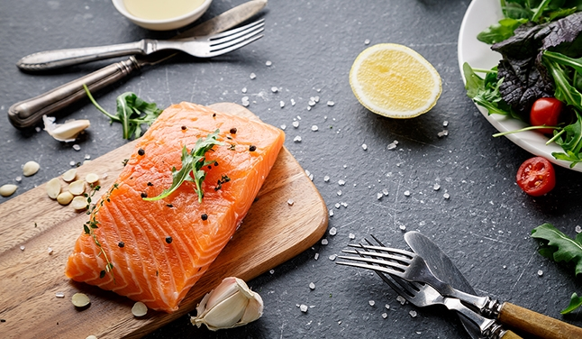 How does food influence chronic inflammation?