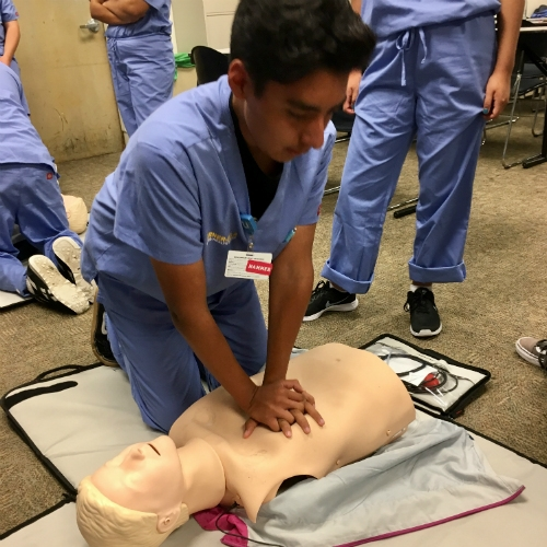 Collaboration opens doors to health care careers for underserved teens